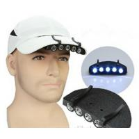 Buy cheap Super Bright 5LED Fishing Light Headlight Flashlight Clip-On Cap Head Light Outdoor Campin from wholesalers