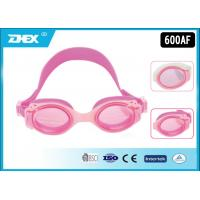 Buy cheap Professional Mirrored Swimming Goggles With Nose Cover for Toddler , Kids from wholesalers