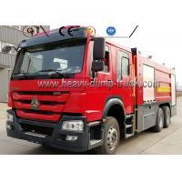 Buy cheap 266HP Engine 4600mm Wheel Firefighter Truck Sinotruck 16000 Liter Water Foam from wholesalers