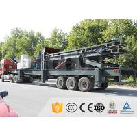Buy cheap PLC Control Mobile Stone Crusher Plant Mobile Impact Crushing Plant Integrated Design from wholesalers