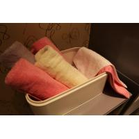 Buy cheap Comfortable Colorful Bath Towel Set , Hotel Customized Cotton Hand Towel / Bath Sheet from wholesalers