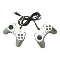 Buy cheap USB Twin Joypad, USB Joystick, USB gamepad, PC controller from wholesalers