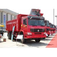 Buy cheap 6x4 Full Fender EURO III in White Yellow and Red HOWO Heavy Duty Dump Truck Tipper Truck from wholesalers