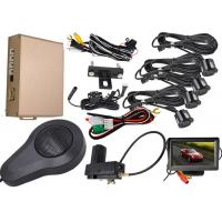 Buy cheap 0.3 - 1.8m Display Distance Front And Rear Parking Sensor Kit Working With Original Car Brake System from wholesalers