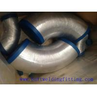 Buy cheap Long Radius Stainless Steel Butt Weld Fittings Steel 90 Degree Elbow 1-72inch from wholesalers