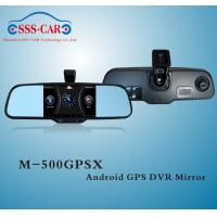 Buy cheap Android GPS DVR Car Rearview Mirror with orignal bracket from wholesalers
