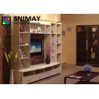 Buy cheap Custom Made Wooden TV Cabinets For Flat Screens , Hall Living Room Wood Furniture from wholesalers