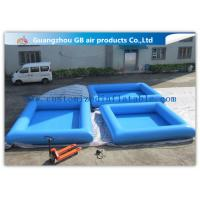 Buy cheap 0.9mm Pvc Tarpaulin Small Inflatable Pool Portable Swimming Pool For Kids product