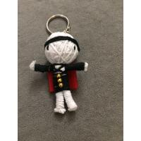 Buy cheap STRING VOODOO DOLLS KEY CHAIN KEY RING HANDCRAFT CARTOON CHARACTER HANDMADE voodoo doll from wholesalers