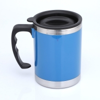 Buy cheap Double Wall LFGB 400CC Stainless Steel Insulated Mug from wholesalers