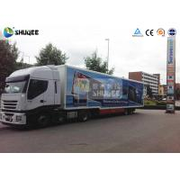 Buy cheap Mobile Truck 7D Movie Theater Cinema Equipment Special Effect Luxury Motion Chairs product