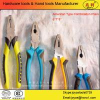 Buy cheap 45# Carbon Steel Combination Plier American Type from wholesalers