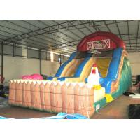 Extreme Inflatable Water Slide For Sale: Inflatable The Farm Themed Standard Dry Slide Top