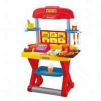 Buy cheap Children's Kitchen Play Set, Fast Food Cashier Desk with Cash Register from wholesalers