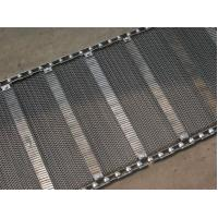 Buy cheap Industrial Stainless Steel Flat Wire Conveyor Belt Exceptionally High Yield Point from wholesalers
