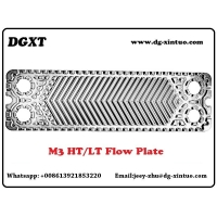 Buy cheap stainless steel AISI304/316/Ti Plate M3 Replacement With Epdm/NBR/FKM/Viton Gasket For Alfa Laval Plate Heat Exchanger from wholesalers