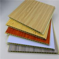 China Fire Resistant Bamboo WPC Wall Panel , Plastic Marble Pvc Wall Panel / Ceiling Panels on sale