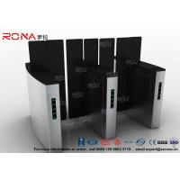 Buy cheap Access Control Turnstile Security Gates Tempered Glass Sliding Material from wholesalers