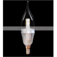 Buy cheap candle Led light bulbs supplier with CE, FCC and ROHS certification from wholesalers