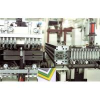 Buy cheap Constructions Plastic Extrusion Line Hollow Cross Section Plate Die 1200 - 2200 Mm Width from wholesalers