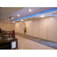 Buy cheap Aluminium Track Wheel Portable Wood Sliding Wall Panels For Exhibition Room from wholesalers