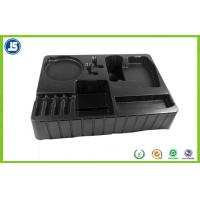 Buy cheap 2.0mm Black Blister Packaging Tray Compartment For Electronic Packaging product