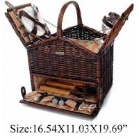 Buy cheap New design  picnic basket for holiday from wholesalers
