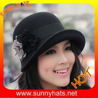 Buy cheap Wool felt hats for ladies from wholesalers
