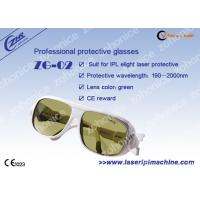 Buy cheap Professional Custom Yellow Laser Protection Eyewear For Yag Laser from wholesalers