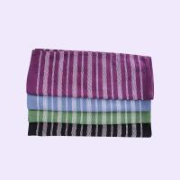 Buy cheap Stripe Pattern Standard Size Cotton Kitchen Tea Towels / Cleaning Cloth For House from wholesalers