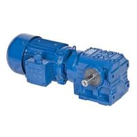 Buy cheap S Series Helical Worm Speed Transmission Gear Box Electric Drive Motor Reducer from wholesalers