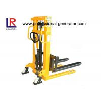 Buy cheap Lift Height 3000mm Warehouse Material Handling Equipment Manual Hydraulic Mini Stacker from wholesalers