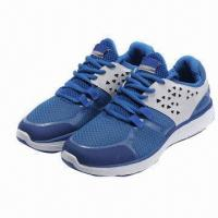 tennis shoe made of mesh insole md outsole leather