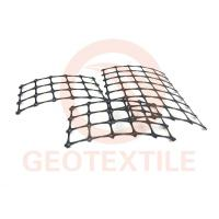 Buy cheap Road Construction Geogrid Fabric For Retaining Walls , Anti UV Retaining Wall Grid product