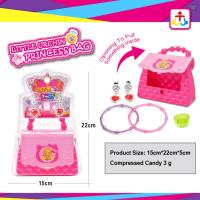 Buy cheap Princess bag with press candy 3g for girls product