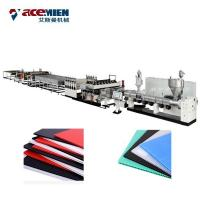 Buy cheap Corrugated Plastic Sheets Extrusion Line , Polypropylene Hollow Fluted Sheet Machine from wholesalers