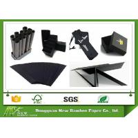 Buy cheap Packaging / printing / wrapping Black Paperboard support customized thickness from wholesalers