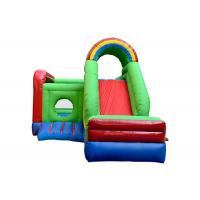 Buy cheap Waterproof Kids Inflatable Jumping Castle , Childrens Bouncy Castle With Slide from wholesalers