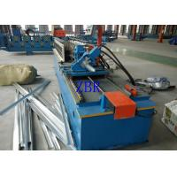 Buy cheap 14 Steps Door Frame Roll Forming Machine , Rolling Shutter Machine product