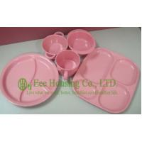 Buy cheap Eco-friendly Bamboo Fiber Meal Box / Bowl /Cup/ Spoon for Children,Bamboo Fiber Dinnerware from wholesalers