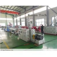 Buy cheap PE Pipe Extrusion Line / Water Supply Pipe Production Machine from wholesalers
