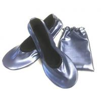 Buy cheap China Wholesale Navy Blue Roll Up Driving Shoes with Printing Logo in a Bag from wholesalers