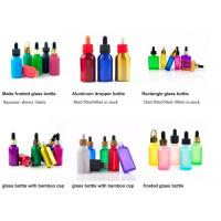 Buy cheap 1oz 50ml Cosmetic Glass Bottles With Glass Pipette For Essential Oil SGS OEM from wholesalers