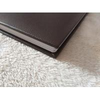 Buy cheap Private Square 12 x 12 Professional Brown Leather Albums Children With logo from wholesalers
