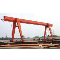 Buy cheap Factory supply electric hoist  5 ton single girder gantry crane manufacturer from wholesalers