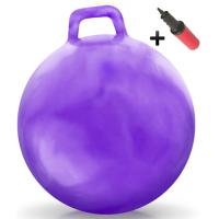 Buy cheap Kids Inflatable Toy Bouncing Fitness Gym Jump Hopper Bouncy Ball With Handle product