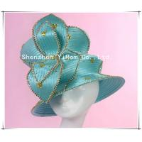 Buy cheap YRSM13096 satin ribbon hat, wedding hat, church hat,derby hat,occasion hat,race hat from wholesalers