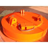 Buy cheap Mn Industrial Lifting Magnets Orange Color Large Air Space High Magnetism Density from wholesalers