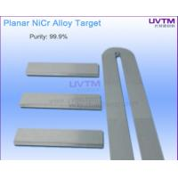 Buy cheap Nicr Planar Sputtering Target for Low E Glass PVD Coating High Purity from wholesalers