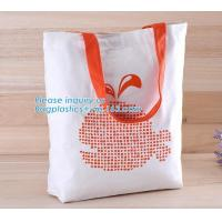 Buy cheap Logo Printed Eco-Friendly Cotton Canvas Bag,Beautiful printed canvas bag, OEM production canvas tote bag made in wenzhou from wholesalers